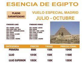 ESENCIA DE EGIPTO (JULIO - OCTUBRE)